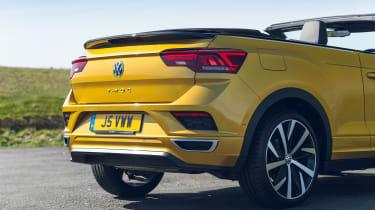Volkswagen T-Roc Cabriolet rear end detail