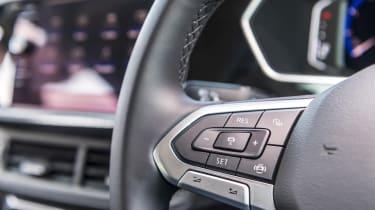 VW T-Cross steering wheel buttons