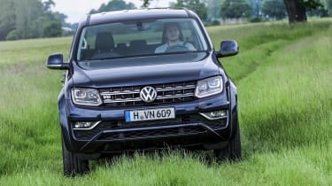 Four-wheel drive gives the Amarok reasonable go-anywhere capability