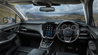 Subaru Outback estate interior