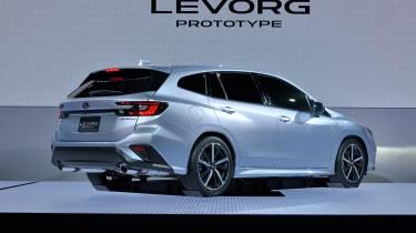 2020 Subaru Levorg rear end - brakes on