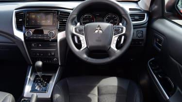 Mitsubishi L200 pickup interior