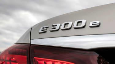 Mercedes E-Class E 300 e hybrid - badging