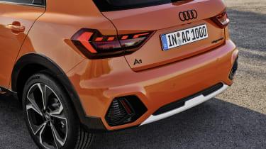 Audi A1 Citycarver rear end details