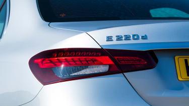 Mercedes E-Class saloon rear lights
