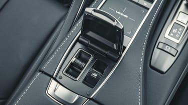 Lexus LC Convertible roof controls