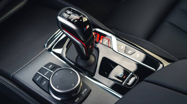 2021 BMW M5 Competition saloon - centre console and gearlever