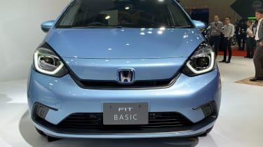 Honda Jazz hybrid front view