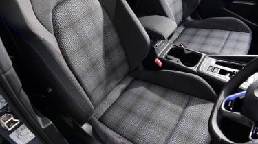 Volkswagen Golf GTE hatchback sports seats
