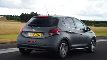 The 208 is one of the better-looking superminis out there