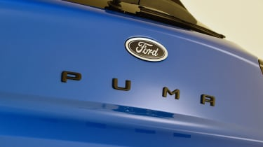 2020 Ford Puma - tailgate badging