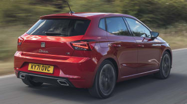 SEAT Ibiza hatchback rear 3/4 tracking