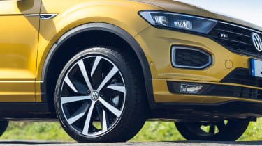 Volkswagen T-Roc Cabriolet alloy wheel