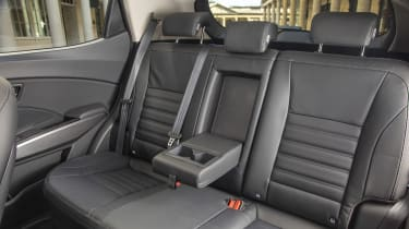 SsangYong Tivoli rear seats
