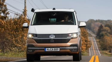Volkswagen California front driving