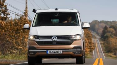 Volkswagen California front driving