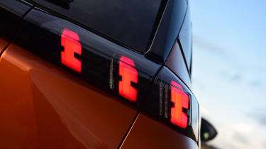 Peugeot 2008 SUV rear lights