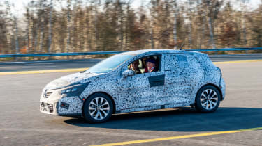 Renault Clio prototype review side