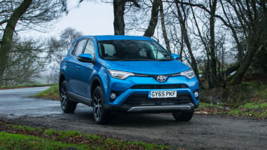 The Toyota RAV4 is a family-sized SUV