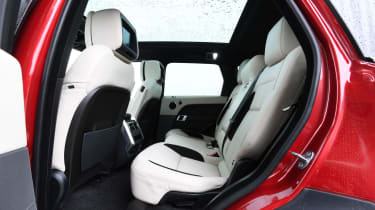 Range Rover Sport SUV rear seats