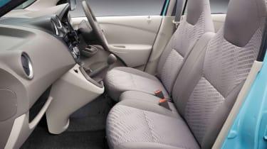 Datsun GO hatchback 2013 interior side profile