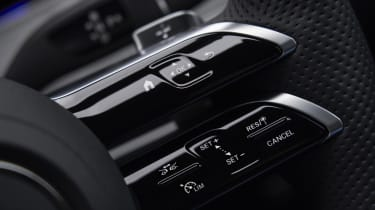 Facelifted Mercedes E-Class estate steering wheel buttons