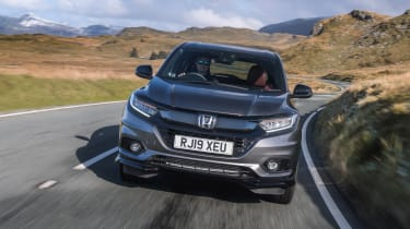 Honda HR-V SUV front country road