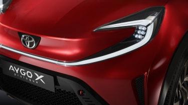 Toyota Aygo X Prologue headlight
