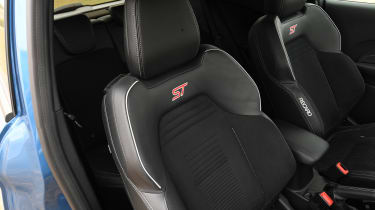 Ford Fiesta ST hatchback front seats
