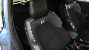 Ford Fiesta ST hatchback front seats