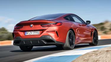 BMW M850i rear