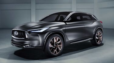 The Infiniti QX50 Range Rover Evoque rival is tasked with improving the brand's fortunes in Europe