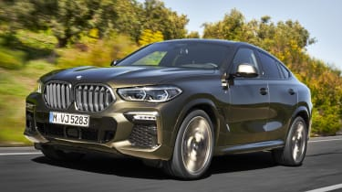 2019 BMW X6 - front 3/4 driving