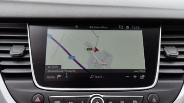 There are two infotainment systems available. Pick a trim with the eight-inch Navi 5.0 IntelliLink setup if you can