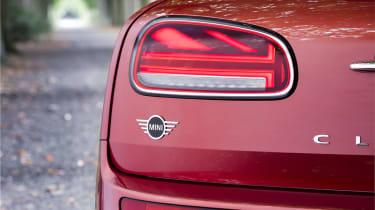 2019 MINI Clubman - Union Jack rear light detail