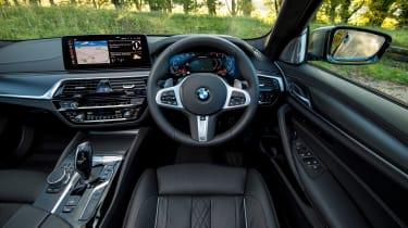 BMW 5 Series saloon interior