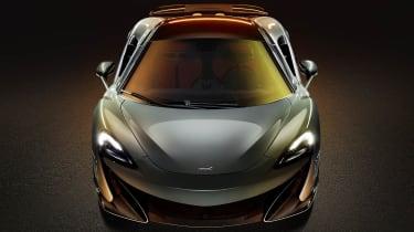 McLaren 600LT head-on