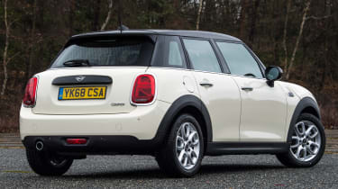 MINI 5-door hatchback rear static