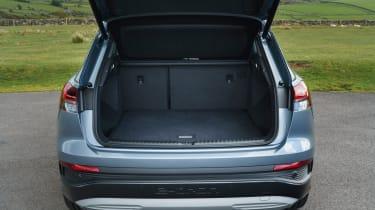 Audi Q4 e-tron SUV boot