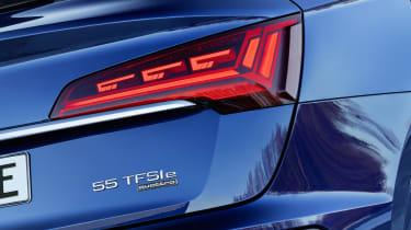 Audi Q5 Sportback 55 TFSI e badge