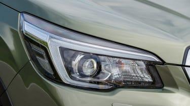 Subaru Forester SUV headlights