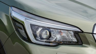 Subaru Forester SUV headlights