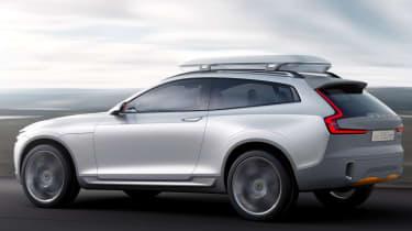Volvo Concept XC Coupe profile