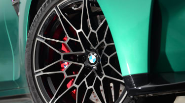 BMW M3 Competition saloon - front alloy wheel