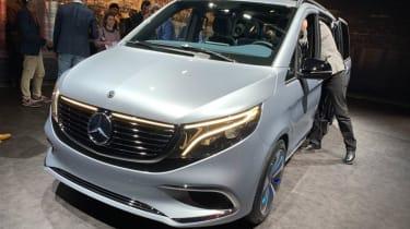 Mercedes Concept EQV MPV - front