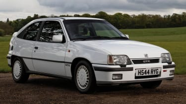 Vauxhall Astra GTE 16v front