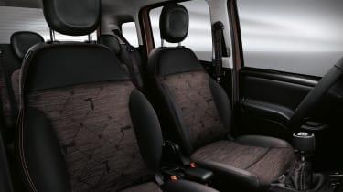 New Fiat Panda Trussardi limited edition - Interior seating