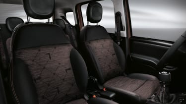New Fiat Panda Trussardi limited edition - Interior seating