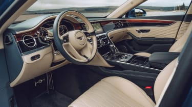 Bentley Continental Flying Spur saloon interior