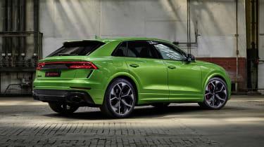 Audi RS Q8 in studio - rear side